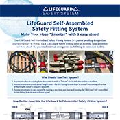 LifeGuard Self Assembeled Safety Hose